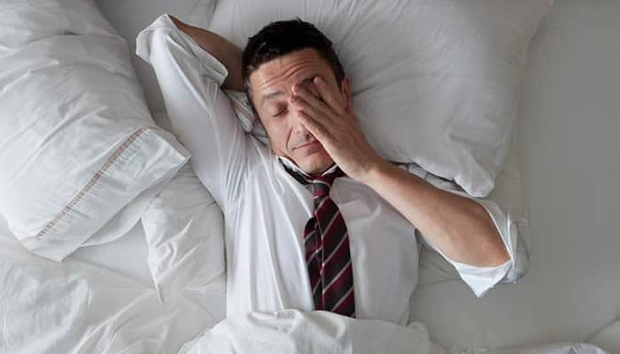 El estrés suele afectar el sueño de forma negativa
